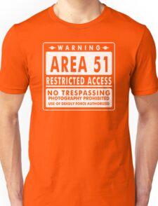 Area 51 Funny TShirt Epic T-shirt Humor Tees Cool Tee Unisex T-Shirt