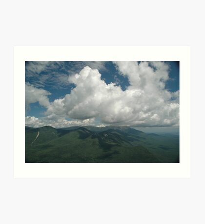 View from Double Top Mountain Art Print