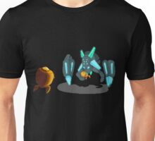 Chippy Confronts Jasper in the Missile Silos Unisex T-Shirt