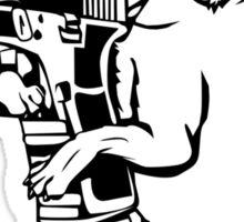Armed Chihuahua Funny TShirt Epic T-shirt Humor Tees Cool Tee Sticker
