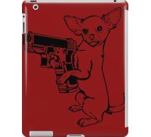 Armed Chihuahua Funny TShirt Epic T-shirt Humor Tees Cool Tee iPad Case/Skin