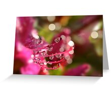 Liquid Light Greeting Card
