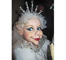 Winter Goblin Queen Photographic Print