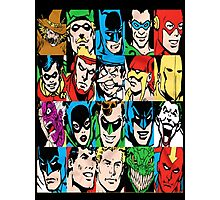 DC Superheroes collection Photographic Print
