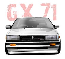 GX 71 Chaser Toyota 80's icon by hccharnock