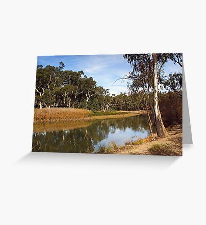 Edward River at Deniliquin Greeting Card