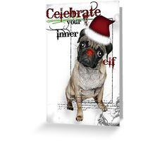 Christmas with Coco Greeting Card