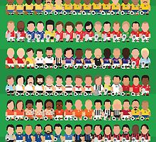 Goal Legends by johnsalonika84