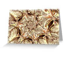 Caramel Lace Greeting Card
