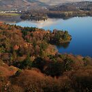 Derwent Water from Cat Bells by KathO