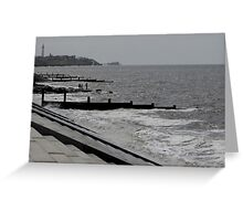 CLEVELEYS HIGH TIDE Greeting Card