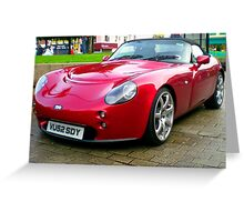 TVR in Ards? Greeting Card