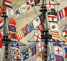 Ship Flags by photoloi