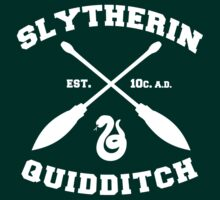 Slytherin Quidditch by Alexandra Grant