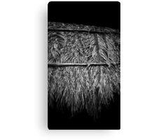 Woven Palm Canvas Print