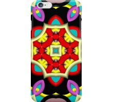 Abstract colorful trendy pattern iPhone Case/Skin