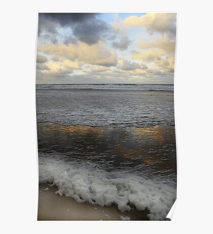 Northumberland Coast Poster