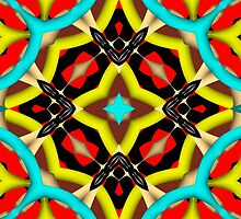 Colorful abstract pattern by ZierNor