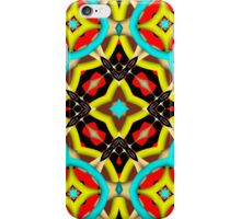 Colorful abstract pattern iPhone Case/Skin
