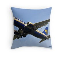 Final Descent Throw Pillow