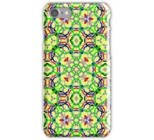 Trendy colorful decorative pattern iPhone Case/Skin