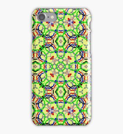 Trendy colorful decorative pattern iPhone Case/Skin