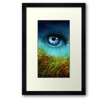 A Field of Daydreaming  Framed Print
