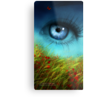 A Field of Daydreaming  Metal Print