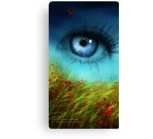 A Field of Daydreaming  Canvas Print