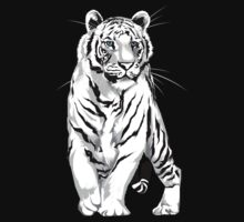 Stately White Tiger by Lotacats