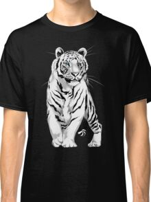 Stately White Tiger Classic T-Shirt