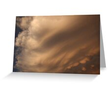 Strong winds Greeting Card