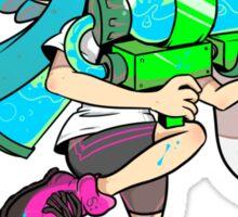 Squid Kid - Turquoise Sticker