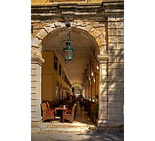 Under the Colonnade Photographic Print