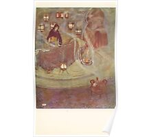 Stories from the Arabian Nights - 1907 - Edmund Dulac - 0069 - Smoke Poster