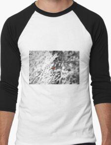 Winter Bird Men's Baseball ¾ T-Shirt