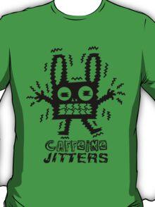 caffeine jitters - bunny T-Shirt