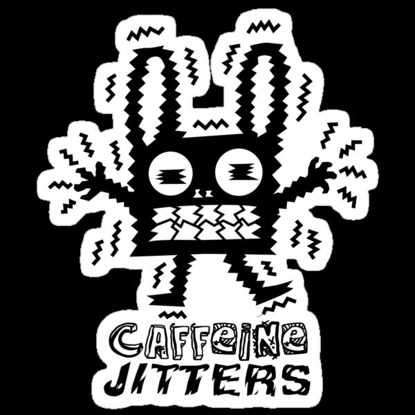 caffeine jitters - bunny by Andi Bird