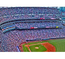 Coors Field Record Smash Photographic Print