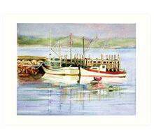 Indian River Morning Art Print