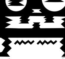 caffeine jitters - cat Sticker