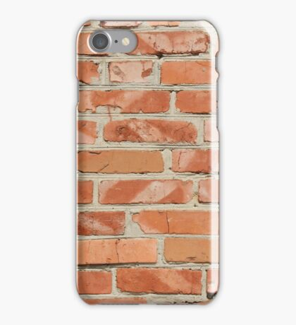Brick wall. Old wall. iPhone Case/Skin