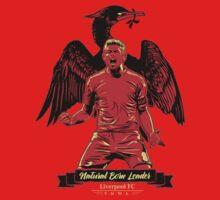 Natural Born Captain Steven Gerrard #ThanksStevie by rizadeli