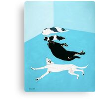 One Sulker, Two Sleepers And A Fidget Canvas Print