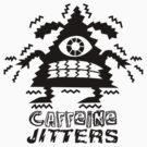 caffeine jitters - pointy by Andi Bird