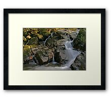 Donegal stream  Framed Print