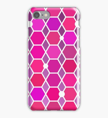 Abstract pattern with polygons. Background texture. Stock vector. iPhone Case/Skin