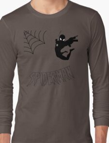 Swinging Spider Long Sleeve T-Shirt