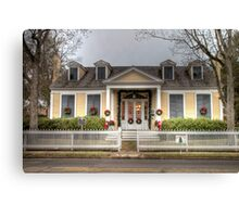 Monroe-Crook House Canvas Print