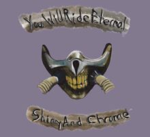 You Will Ride Eternal, Shiny and Chrome Kids Tee